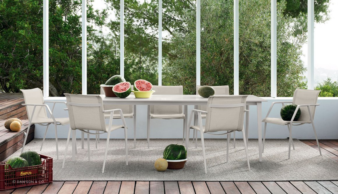 Wa dining collection by dedon