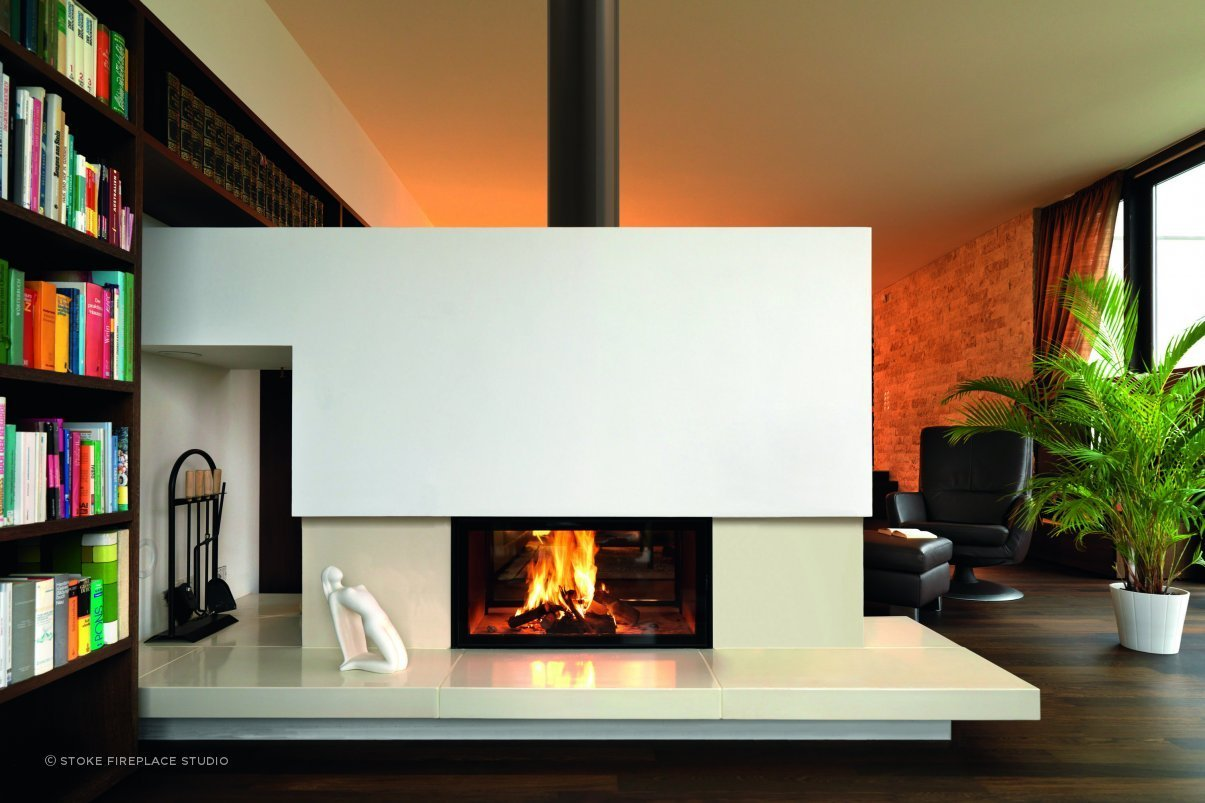 Spartherm Double Sided Wood Fire