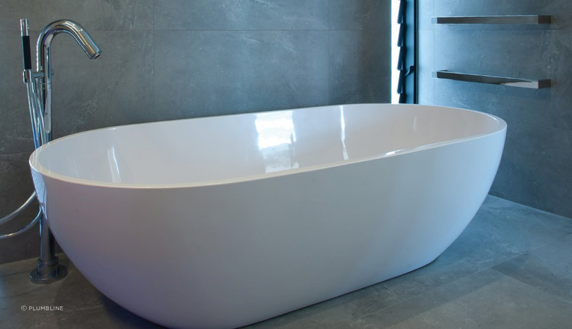 Belle Freestanding Bath by Progetto by Plumbline