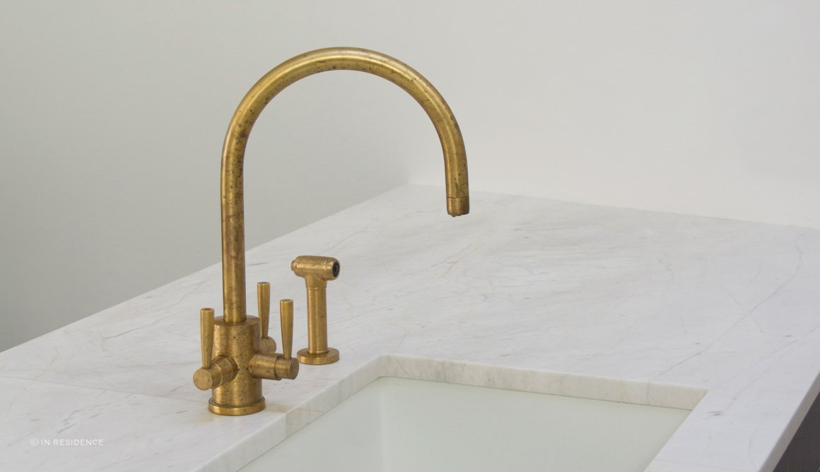 PERRIN & ROWE TRIFLOW KITCHEN TAPS by In Residence