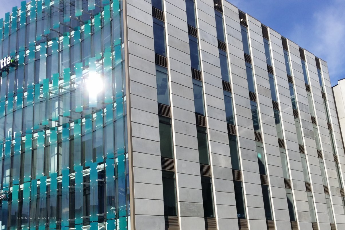 GRC Cladding Panels - Glassfibre Reinforced Concrete by GRC New ...