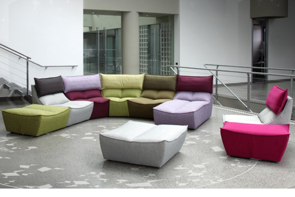 Hip Hop Sofa by Calia by Ultimate Living