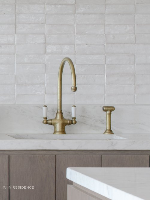 Perrin & Rowe Phoenician kitchen tap by In Residence