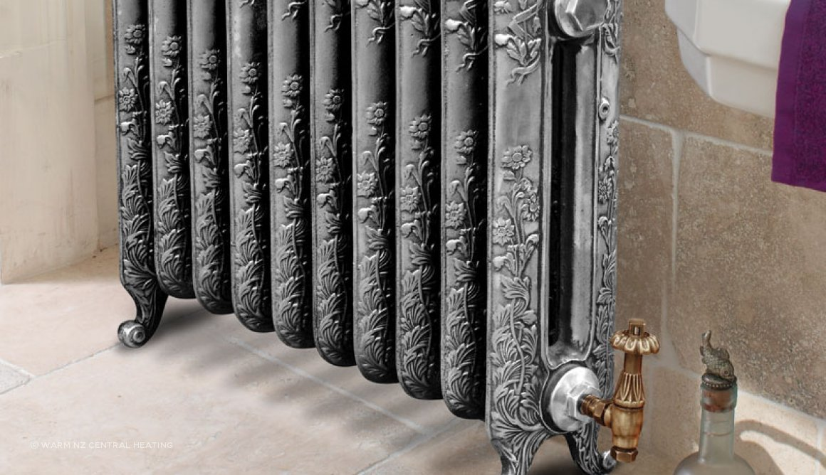Montpellier Cast Iron Radiator Range by Paladin by Warm NZ Central ...