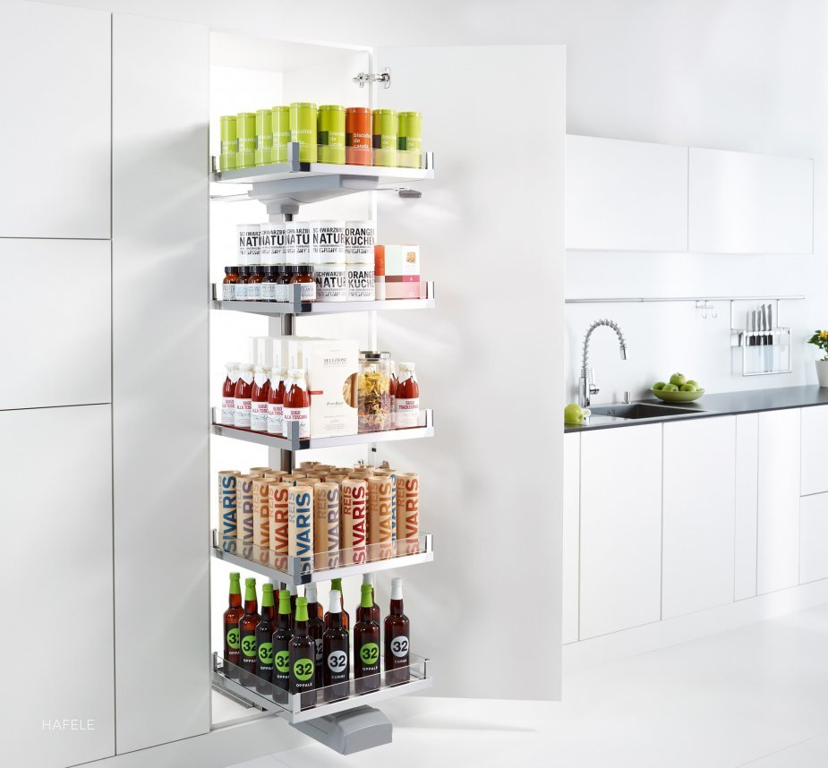 CONVOY Premio Pull-Out Pantry by Hafele