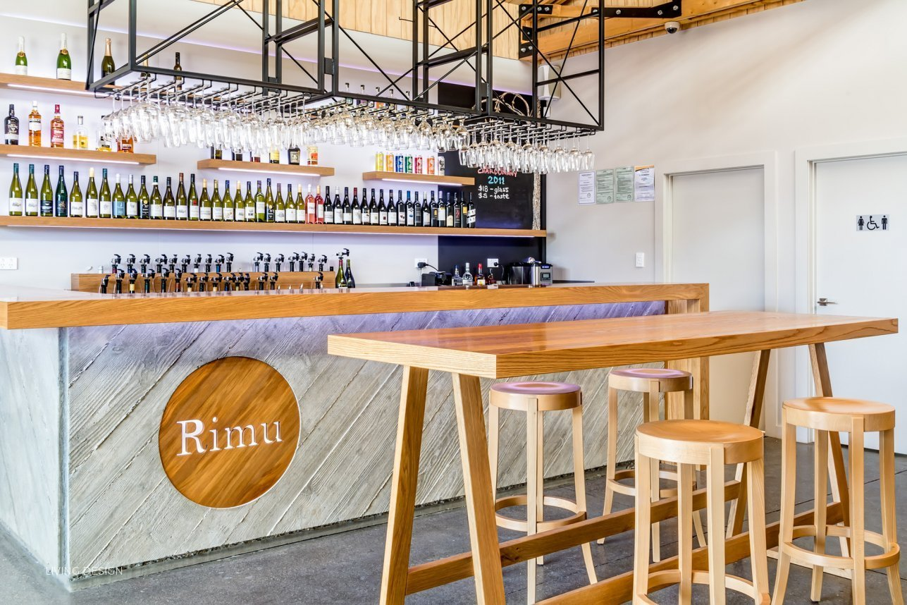 Attractive Rimu Wine Bar