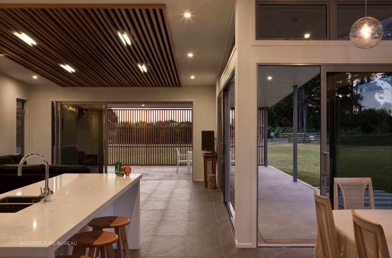 Contemporary country home by architecture bureau