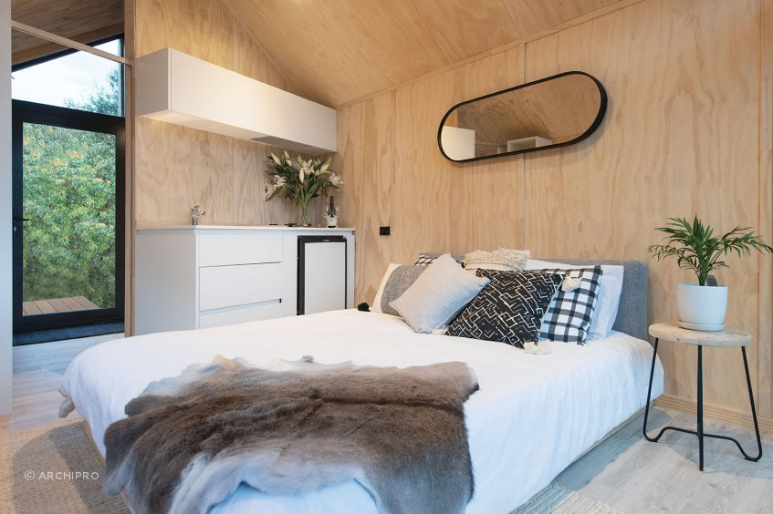 Nook Tiny Home by Red + Black Construction.