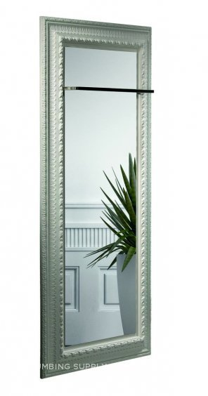 Mirrors can be affixed to stone radiators offering a new level of design freedom.