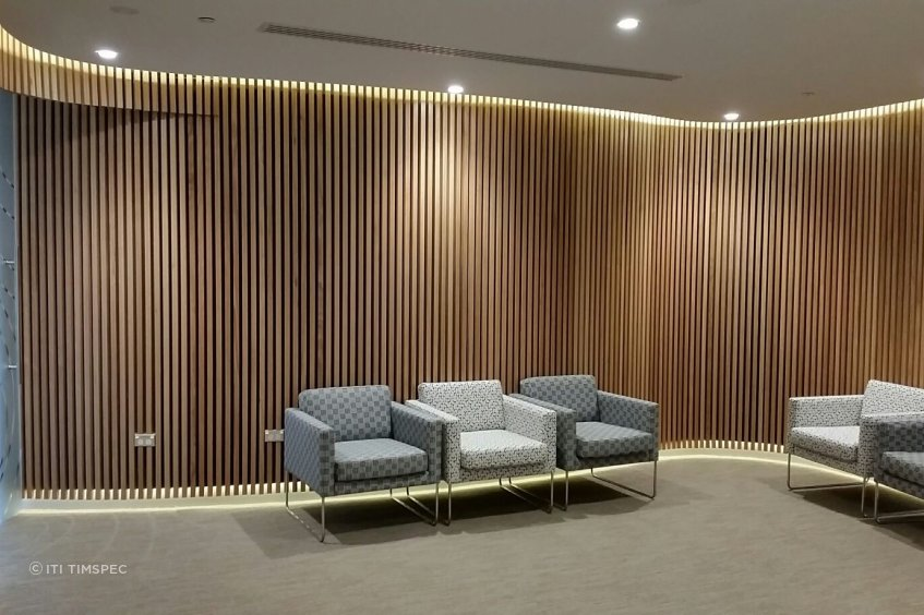 ITI Timspec recently completed a timber fitout for the Auckland Eye Institute where the interiors needed to evoke feelings of relaxation.