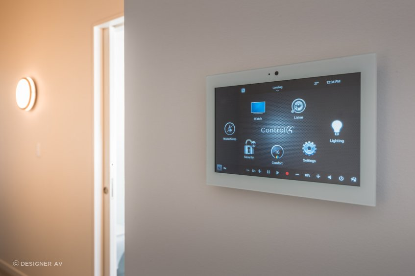 Control4 gives the lights in your home a centralised brain.