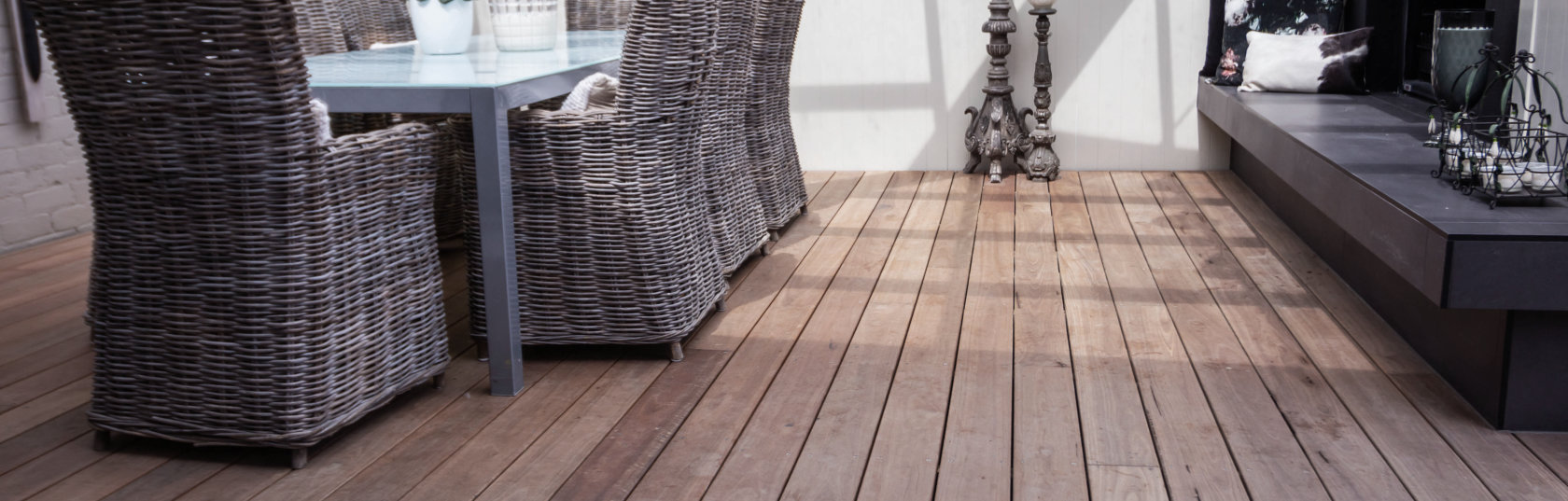 Durable Hardwood Decking Eliminates Need for Chemical Treatments