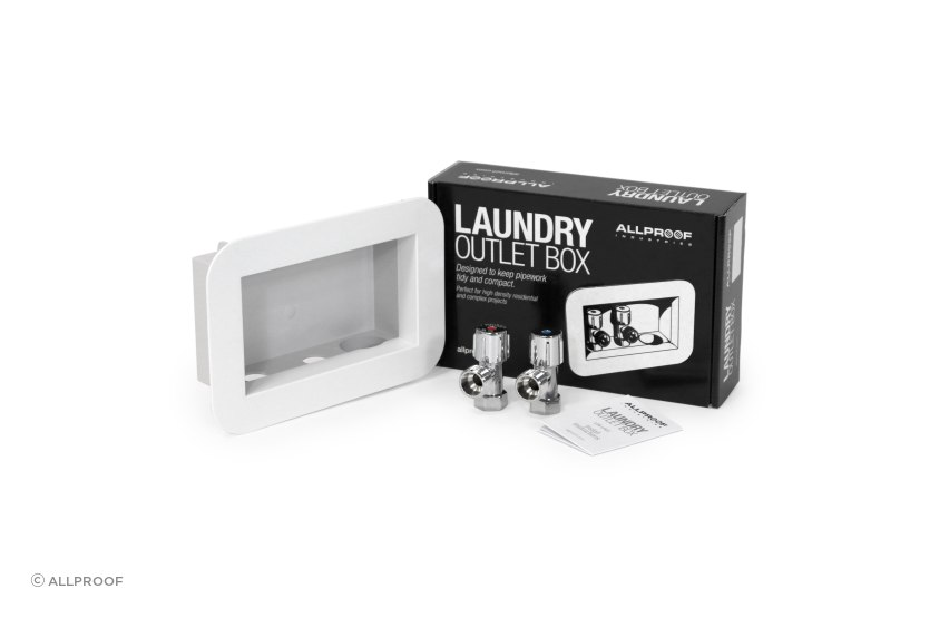 Laundry Outlet Box and Packaging - Allproof