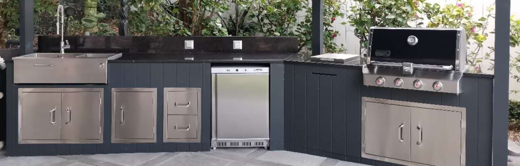 What makes a great outdoor kitchen?