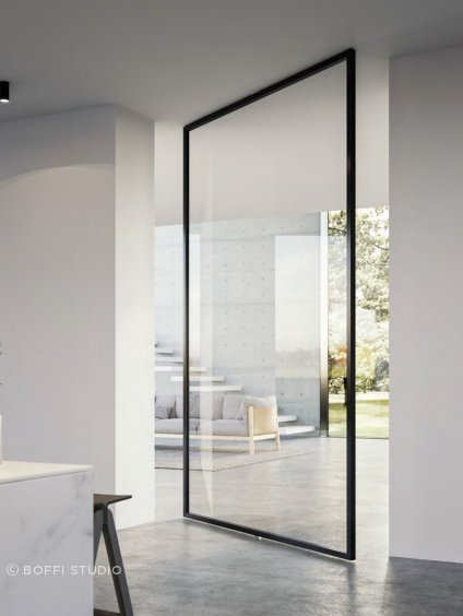 The Quadra Pivot Door by ADL.