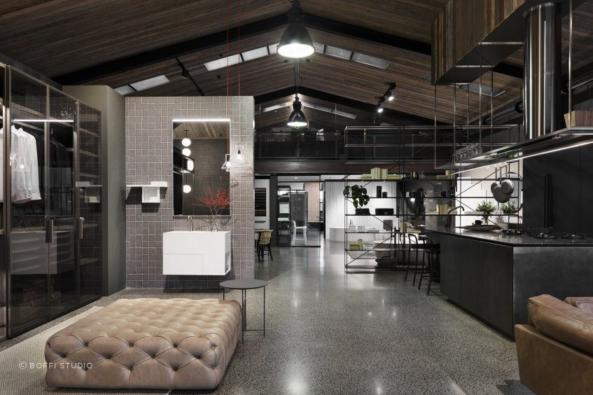 Boffi's Auckland showroom offers an alluring taste of the full Boffi range.
