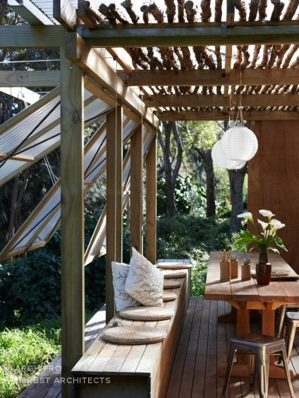 Wetland Folly, Great Barrier Island, by Herbst Architects.