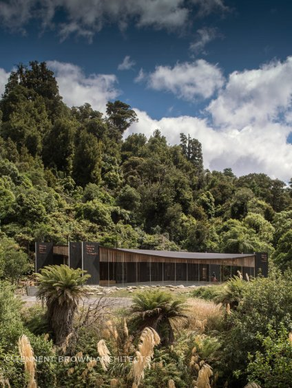 In 2017, Tennent Brown Architects won the national architecture award for Te Wharehou o Waikaremoana visitor centre in Te Urewera forest.