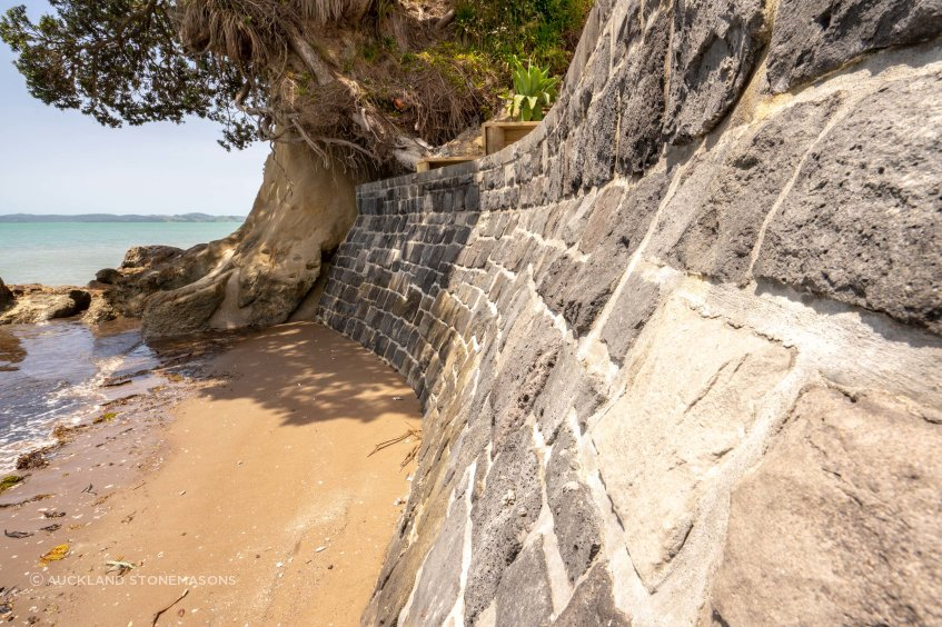 Sea walls are an effective way of stopping erosion and damage for both residential and civil settings.