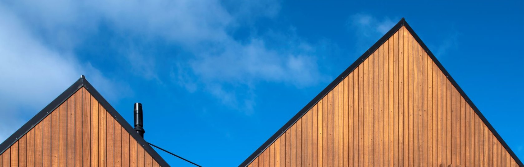 The thermally modified wood revolutionising timber cladding