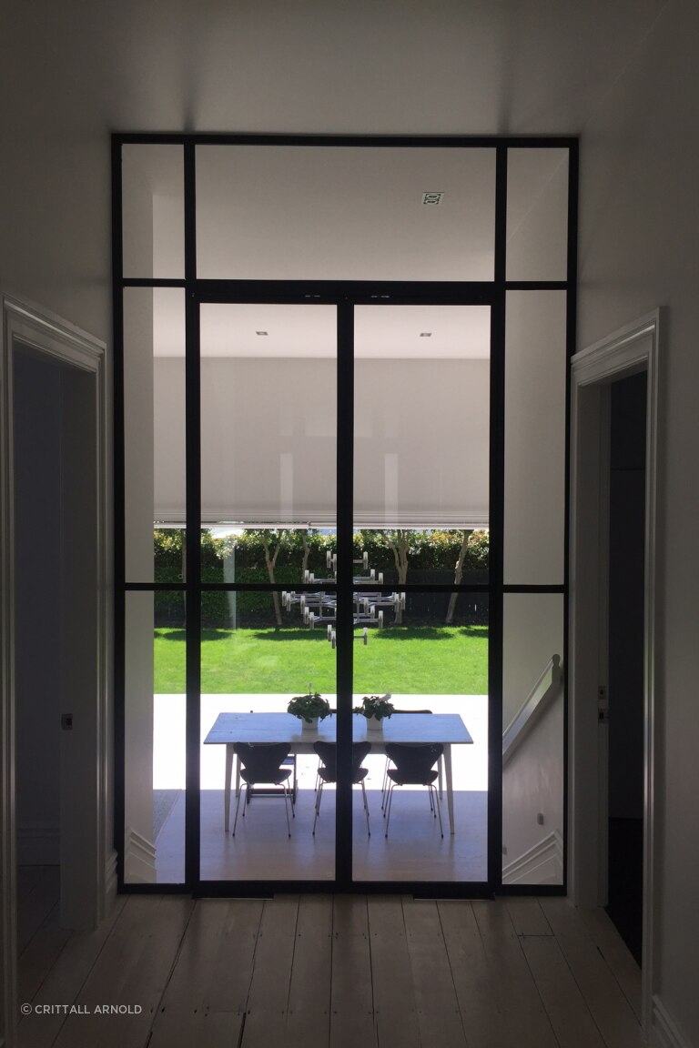 The elegance of steel joinery now indoors   Windows and Joinery NZ