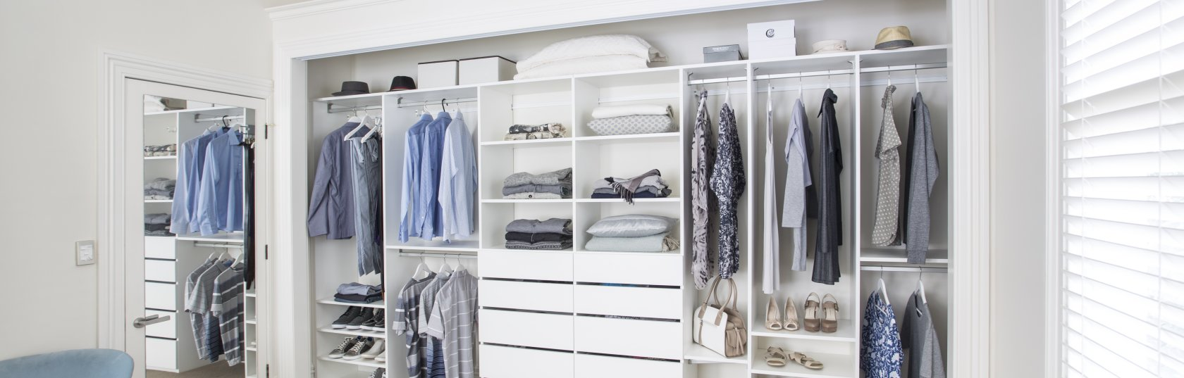 Sparking joy: clever storage solutions