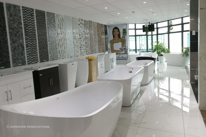 Bath and Tile Showroom in Albany