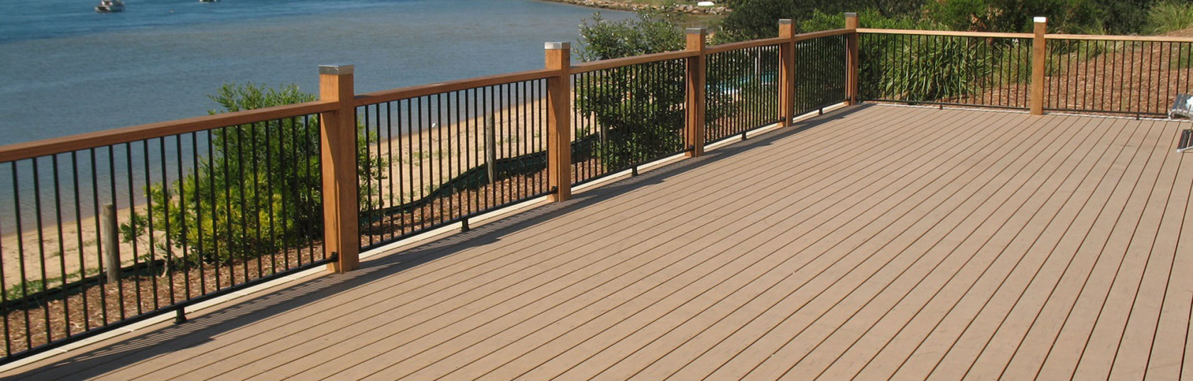 Don't let winter put you off building your dream deck!