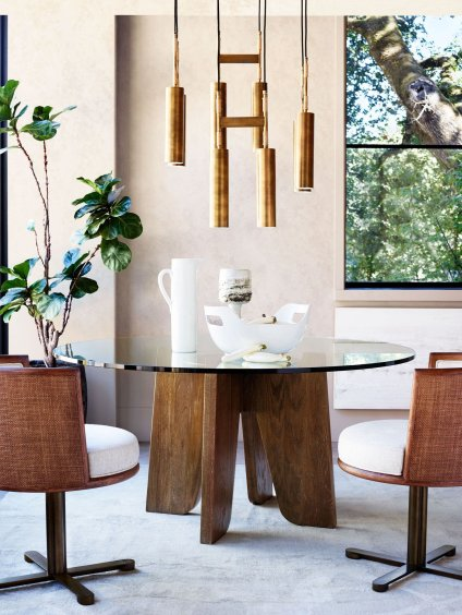 Tomales Chandelier by McGuire Furniture From Cavit+Co