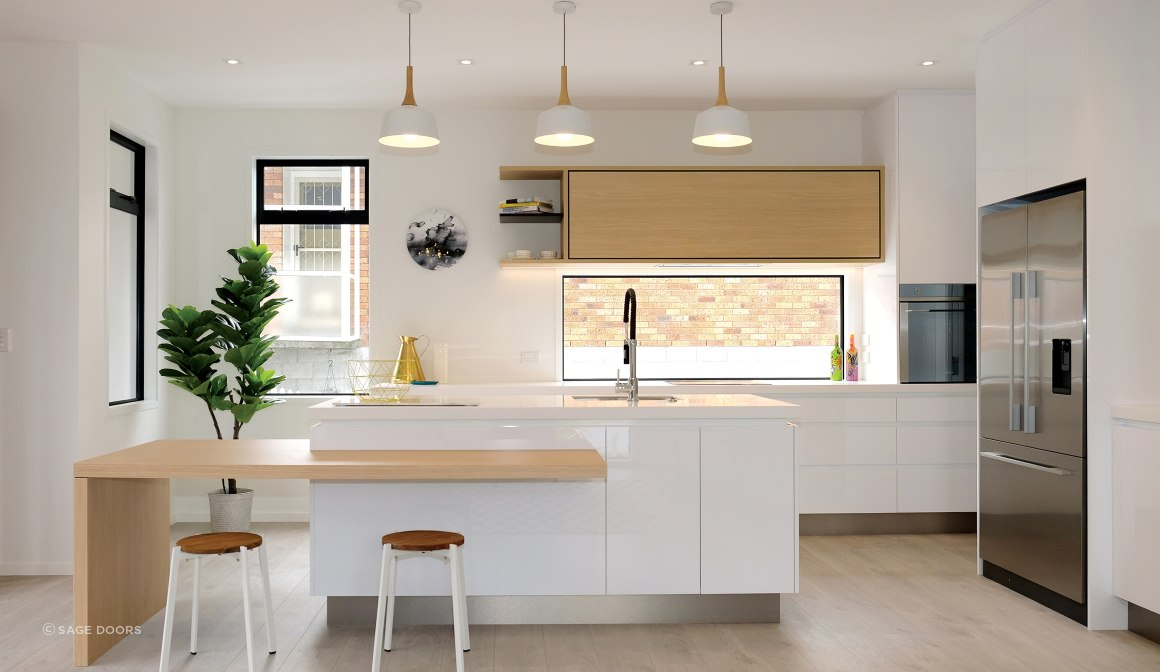 Vogue Kitchens - Acrygloss Glacier