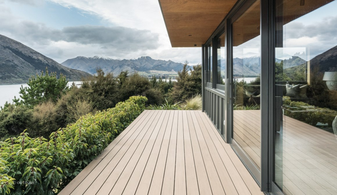 The Disho Retreat - Almond CasaDeck Composite Decking Board