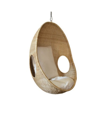 Hanging Drop Pod Chair W Cushion Swings And Hanging Chairs Nz Archipro
