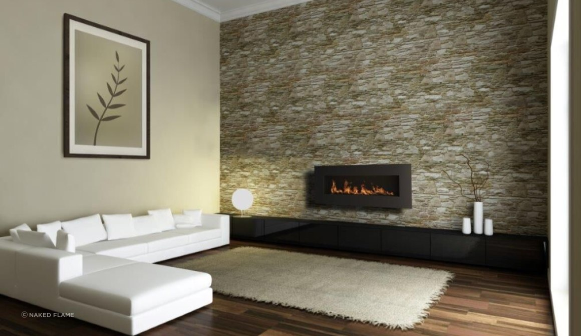 Icon Fires Nero 1450 Biofuel Fireplace