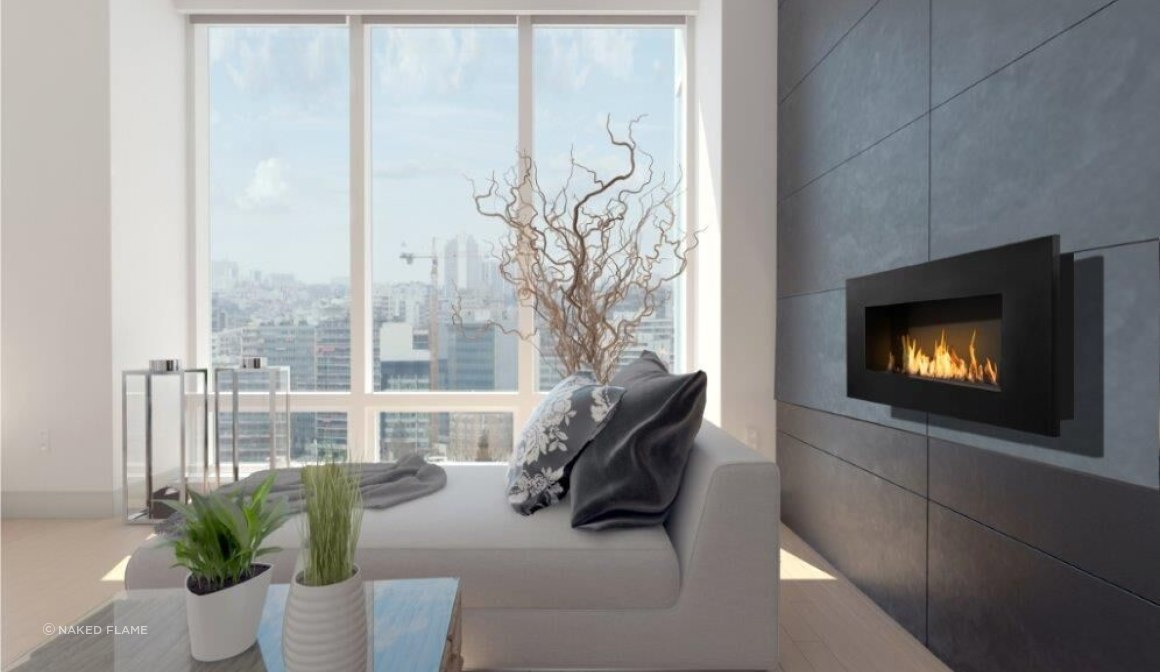 Icon Fires Nero 1150 Biofuel Fireplace