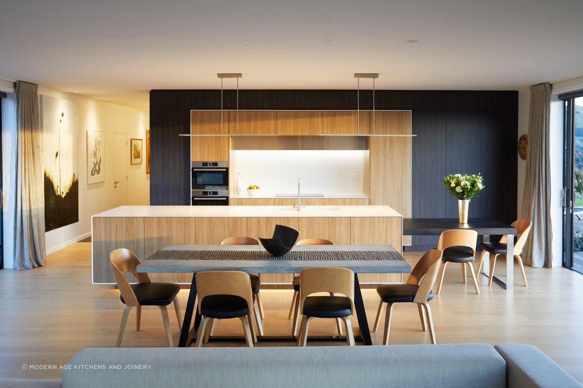 Akaroa Kitchen - Modern Age Kitchens and Joinery  ArchiPro