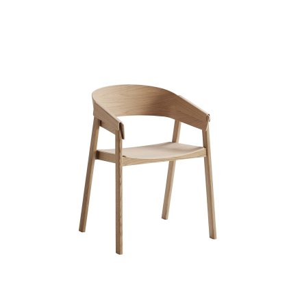 Muuto Cover Chair - Black - Dining Chairs NZ | ArchiPro