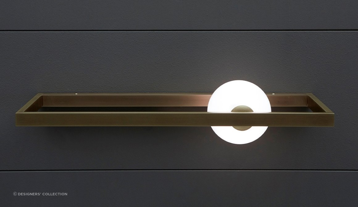 The Mondrian collection by VeniceM includes this wall light, ceiling lights and floor & table lamps.