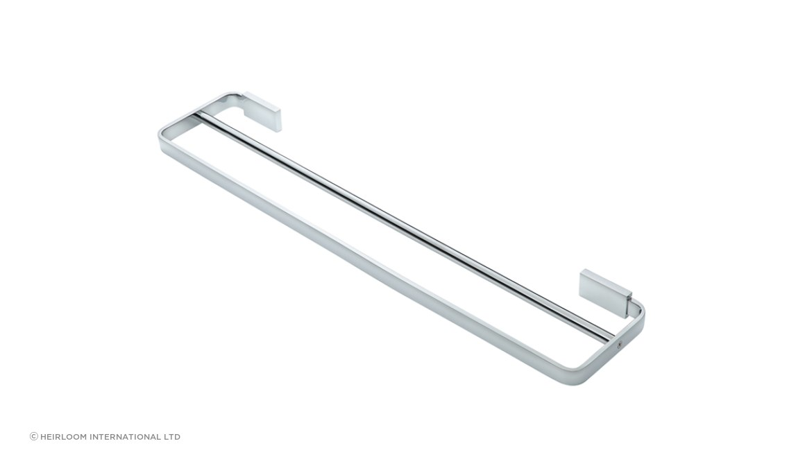 Podiium Double Towel Rail Chrome
