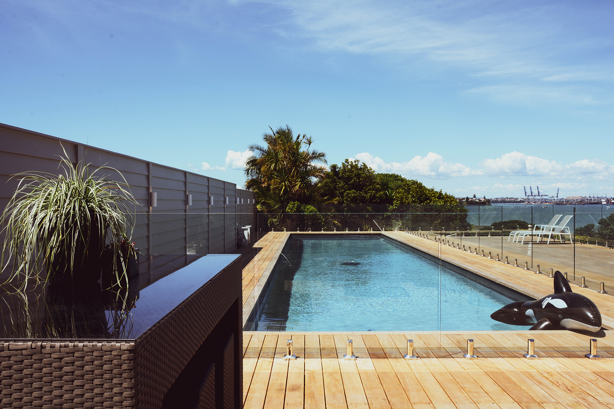 Glass Pool Fencing System Glass Balustrades Nz Archipro