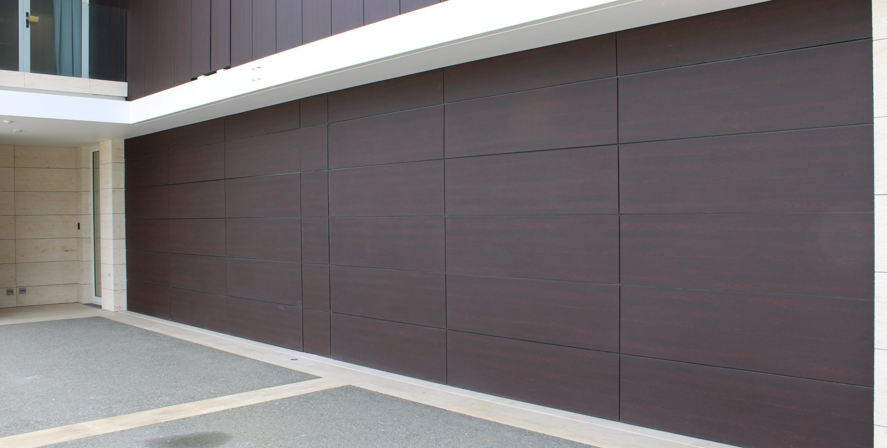 Trespa Laminate Garage Door By Prestige Doors Amp Gates
