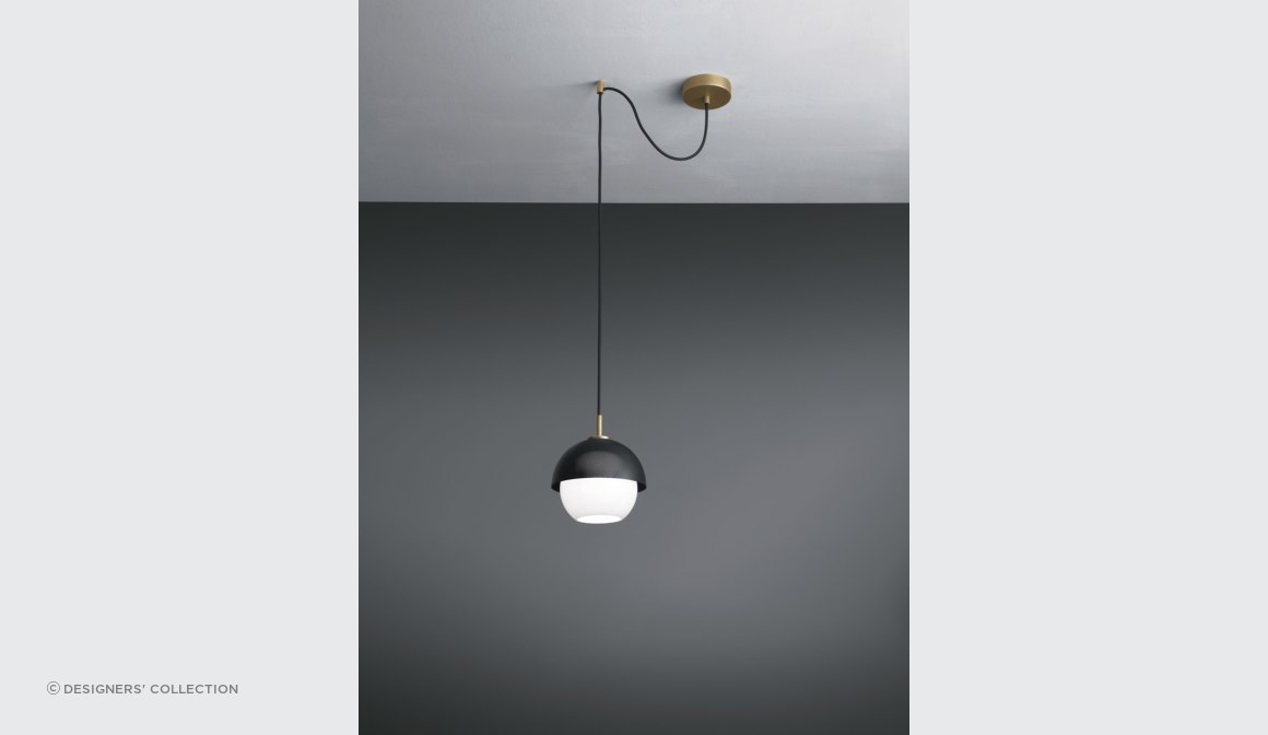 Urban suspension light 1 can have a decentralise kit added to set the light off-centre for visual effect.