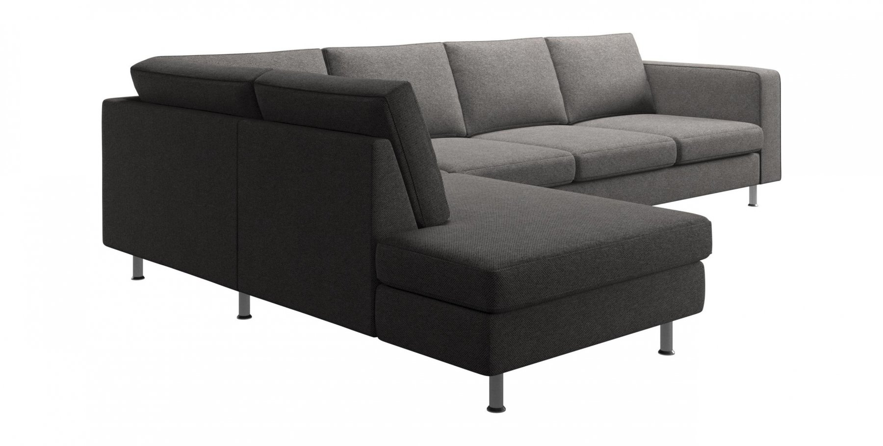 Indivi 2 Corner Sofa with Lounging Unit by BoConcept