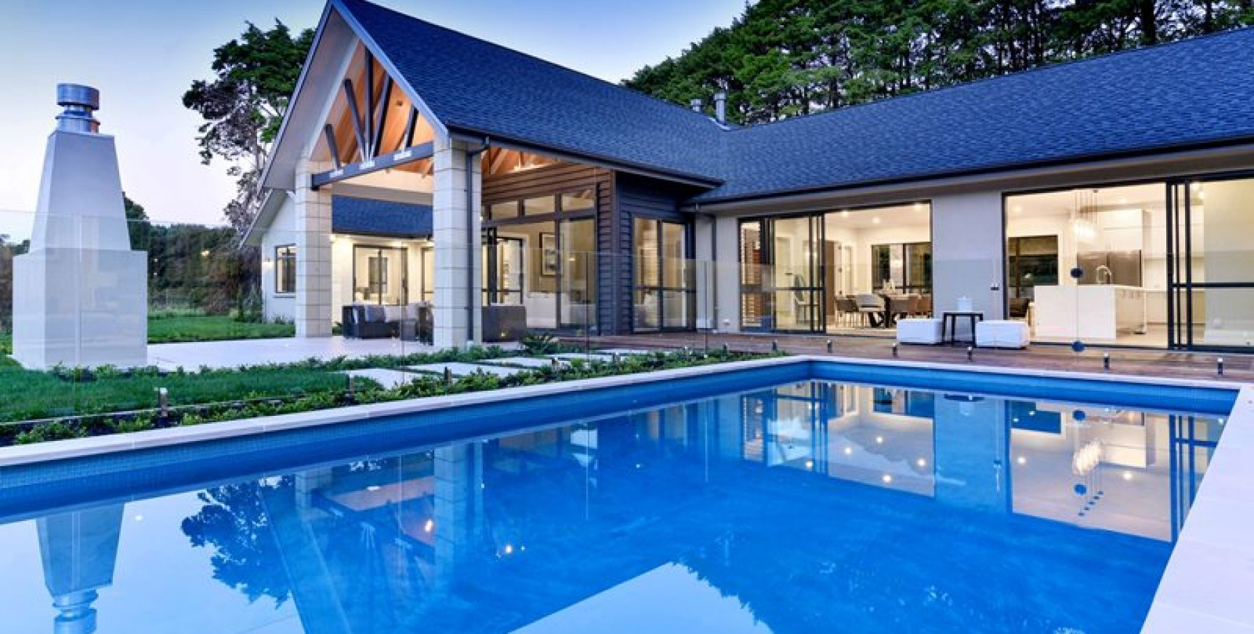 Auckland inground pools auckland archipro for Pool design auckland