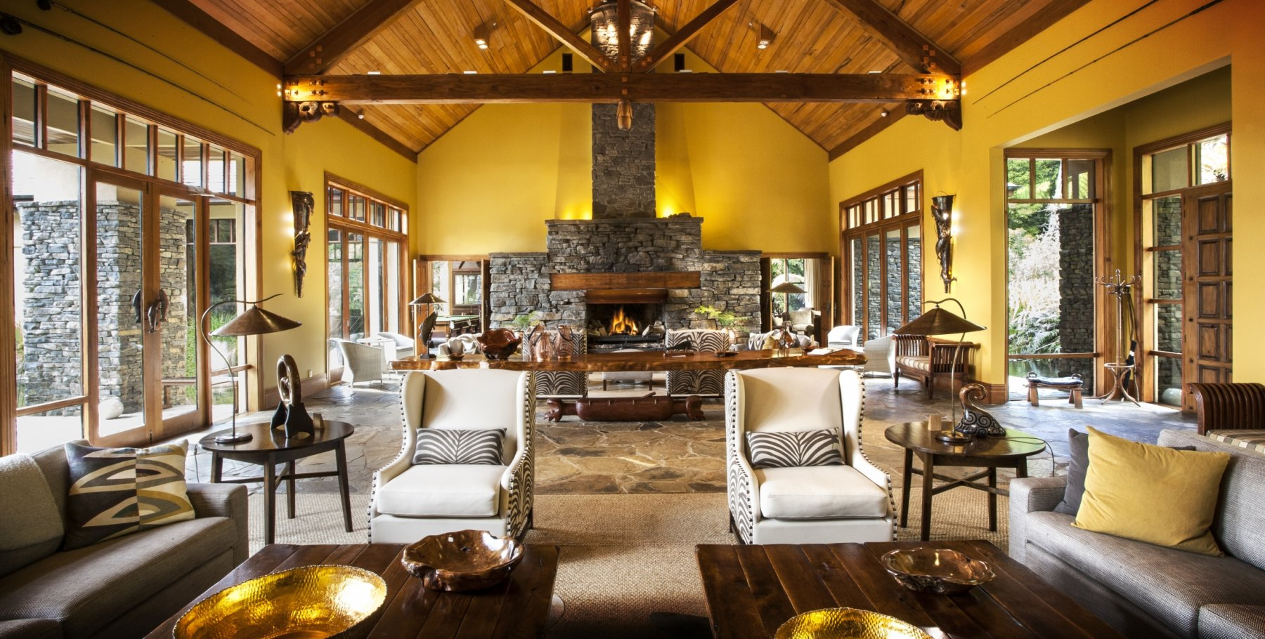 Treetops Lodge & Estate by Karen Fergusson Interiors