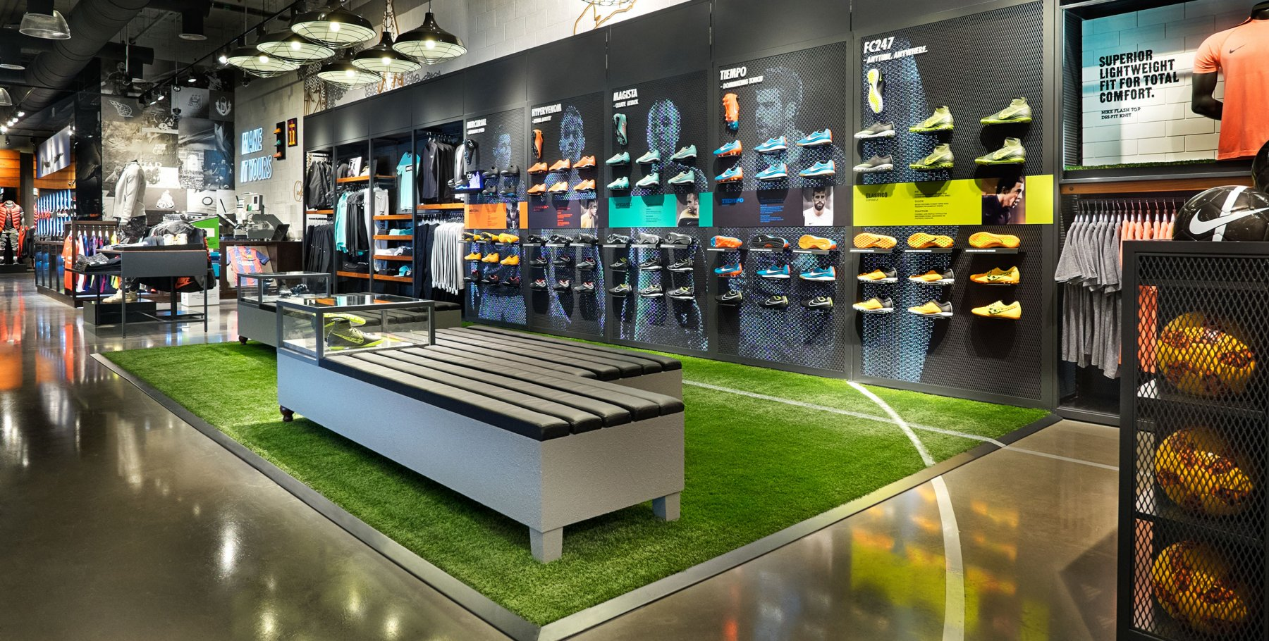 06feb50bd5ad World s Largest Nike Store by ARDEX New Zealand
