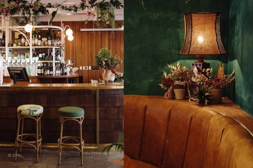 Located in Auckland's Viaduct precinct,The Lula Inn is a South Pacific-style eatery that combinesequal measures of luxe, rustic and tropical in its interior.