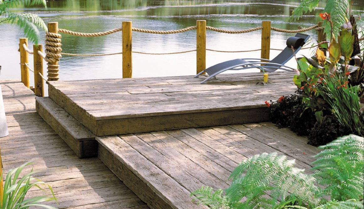Millboard decking weathered oak collection by forté