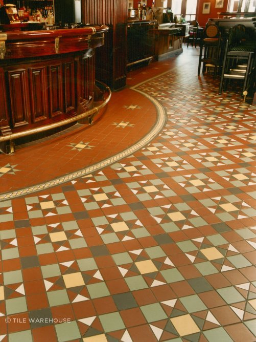 Topcer Tessellated Tiles By Tile Warehouse
