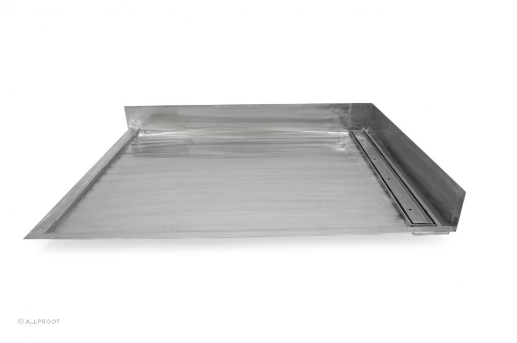 Tile Over Stainless Steel Shower Tray