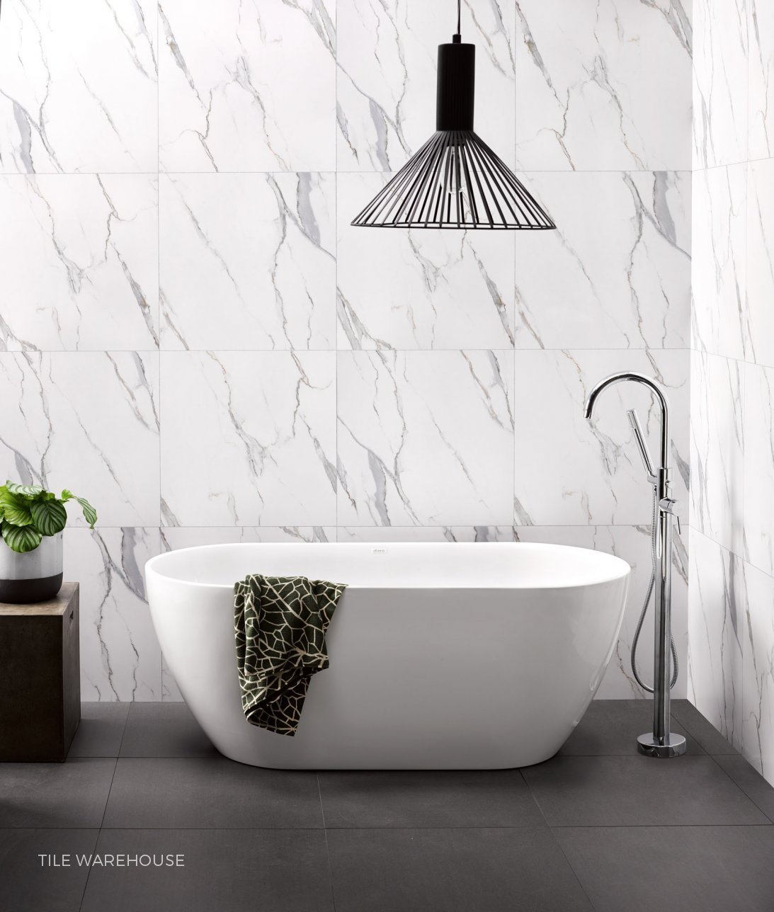 Bathroom Inspiration with Athena by Tile Warehouse